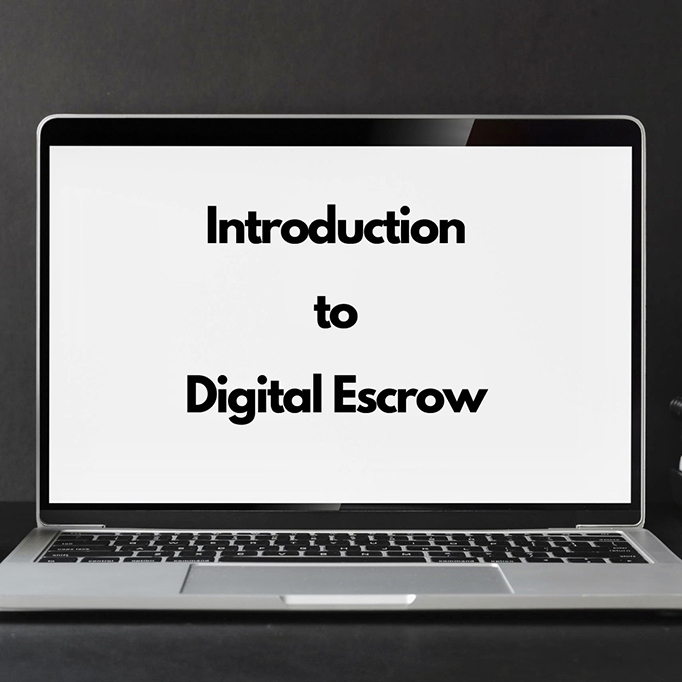 Introduction to digital escrow